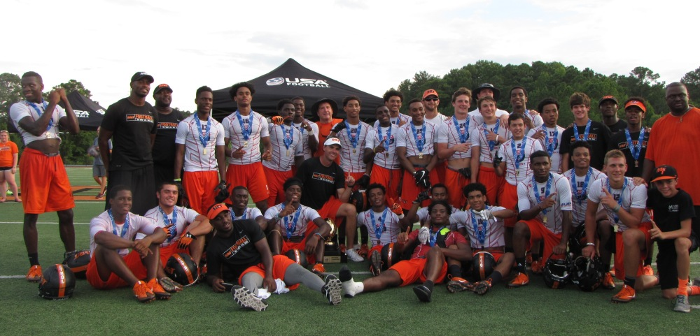 McGill-Toolen (Mobile, Ala.) won the USA Football 7on7 National Championship. (Photo: Jim Halley, USA TODAY).