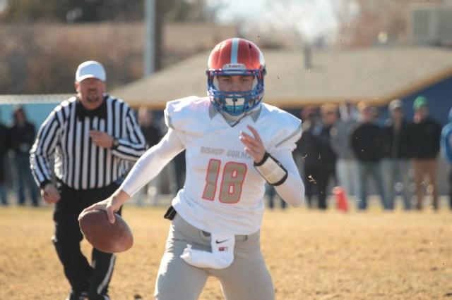 Bishop Gorman quarterback Tate Martell. (Photo: Greg Cava)