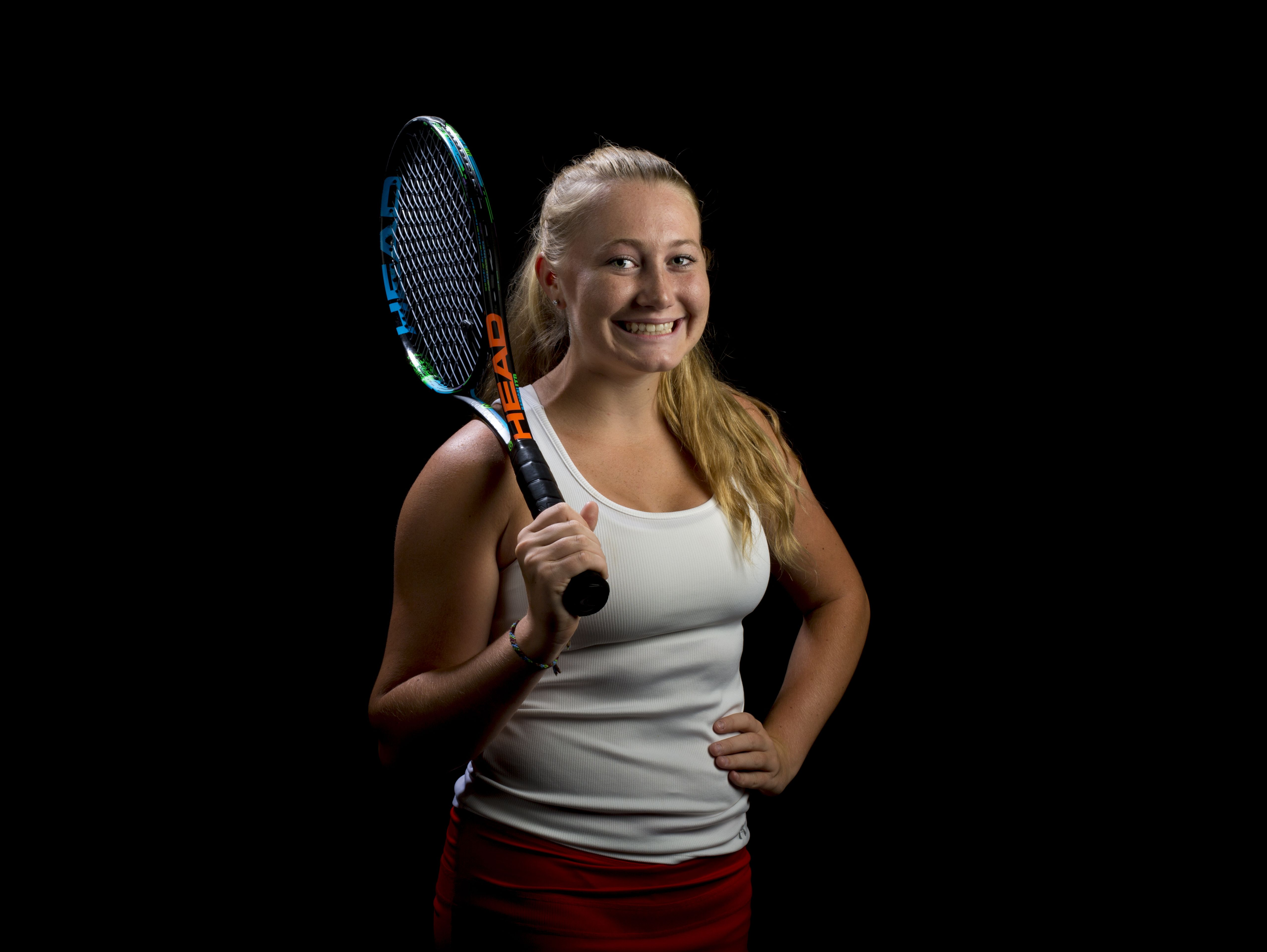 St. Clair High School junior Claire Brooks is the Times Herald Tennis Player of the Year.