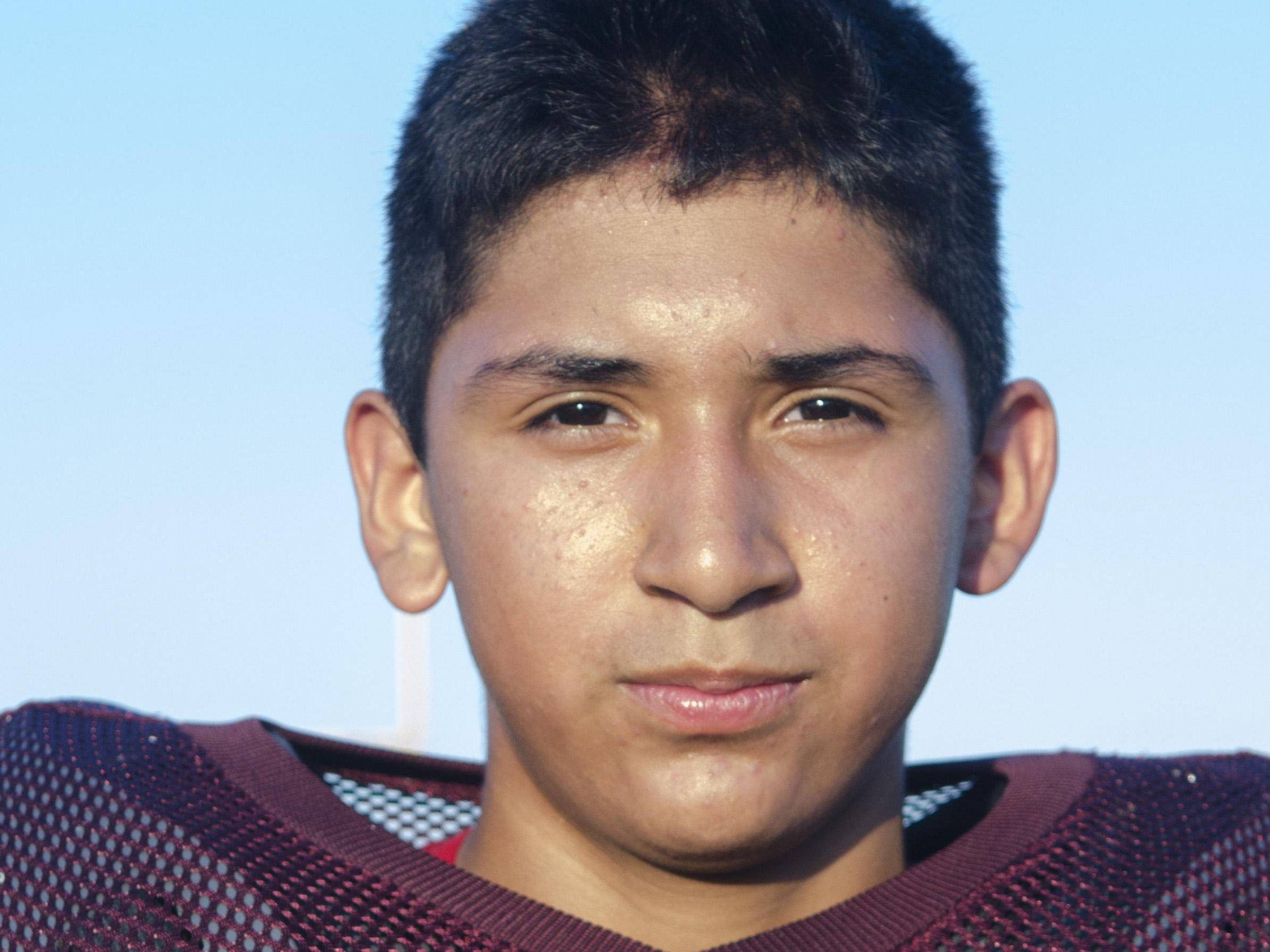 Carlos Ibarra Deckerville Football 2016