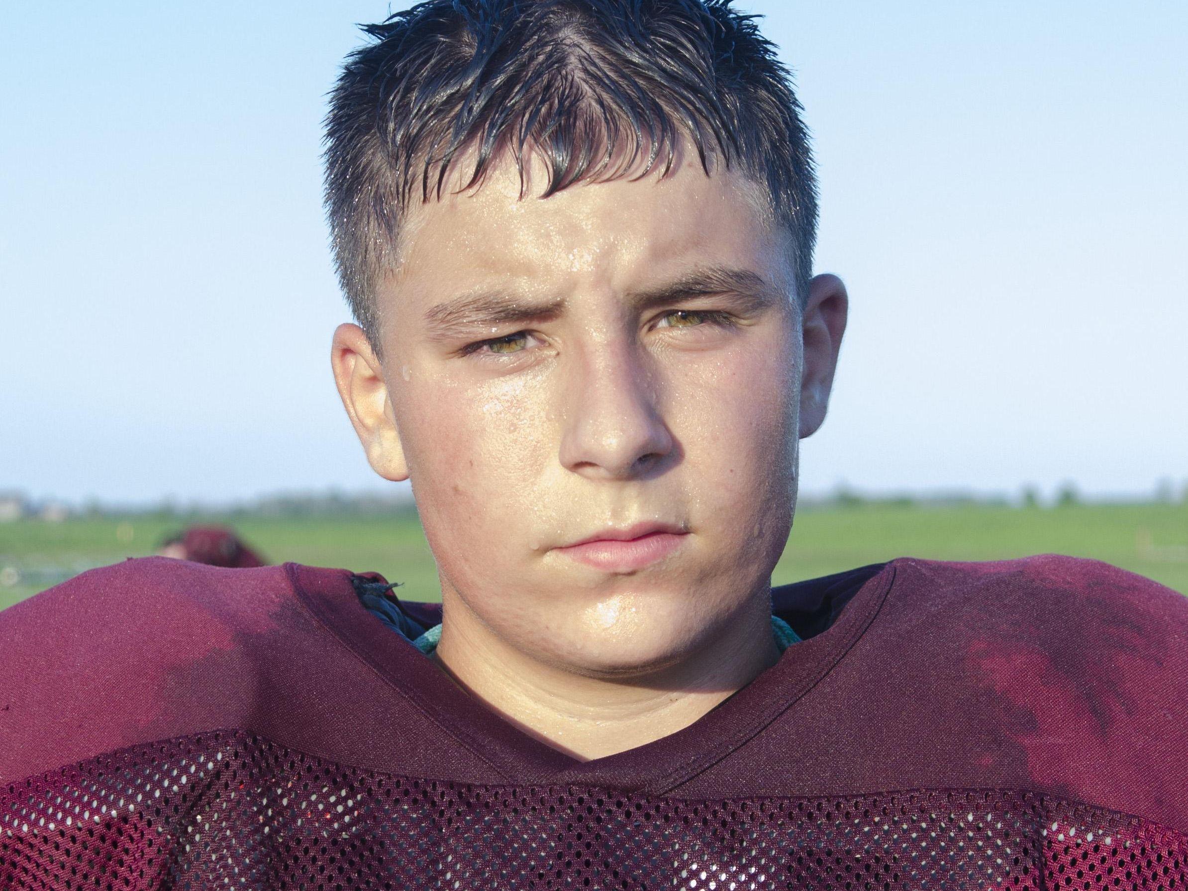 Connor Lamont Deckerville Football 2016