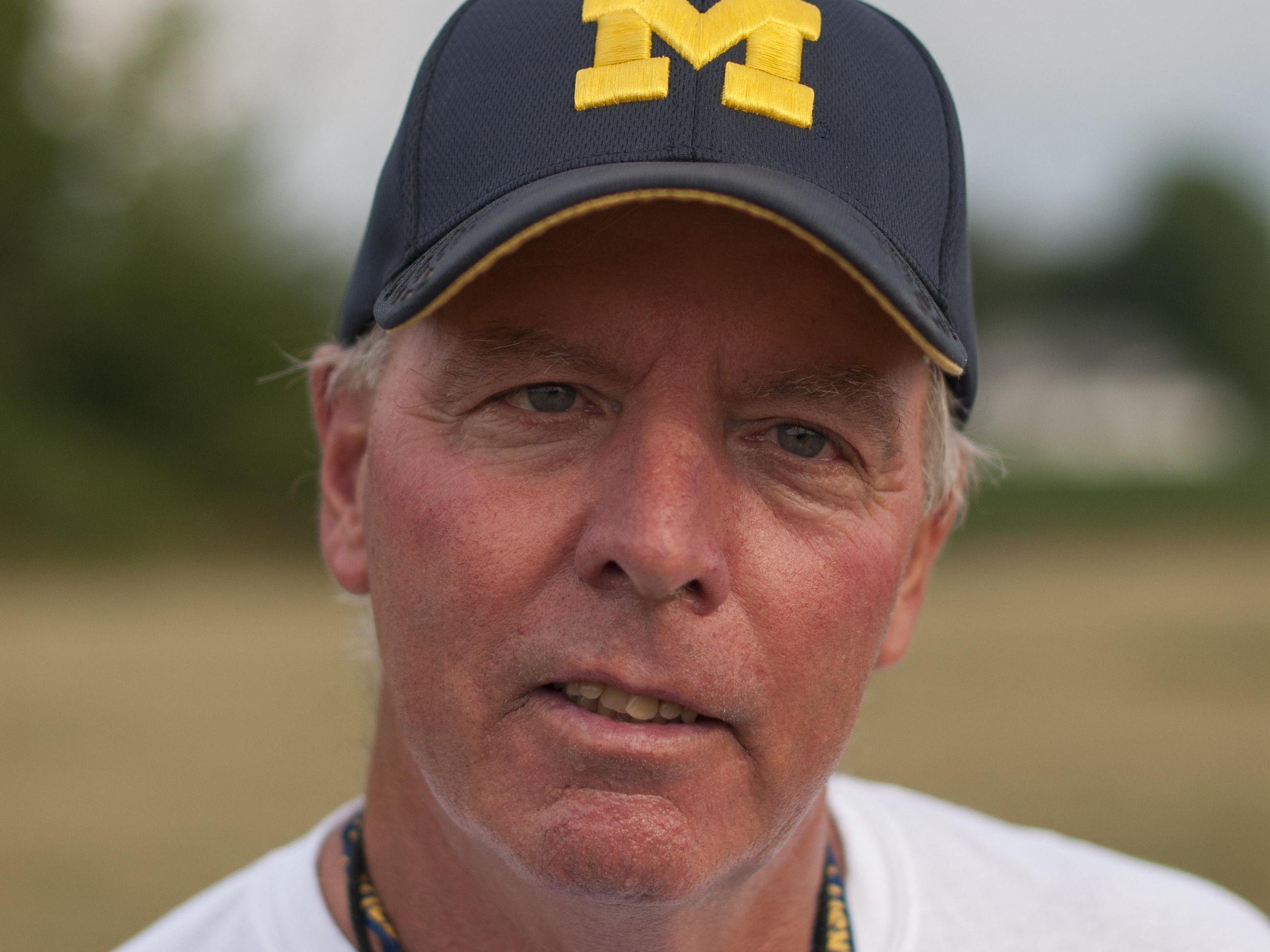 Head coach Larry Bradkey Memphis Football 2016