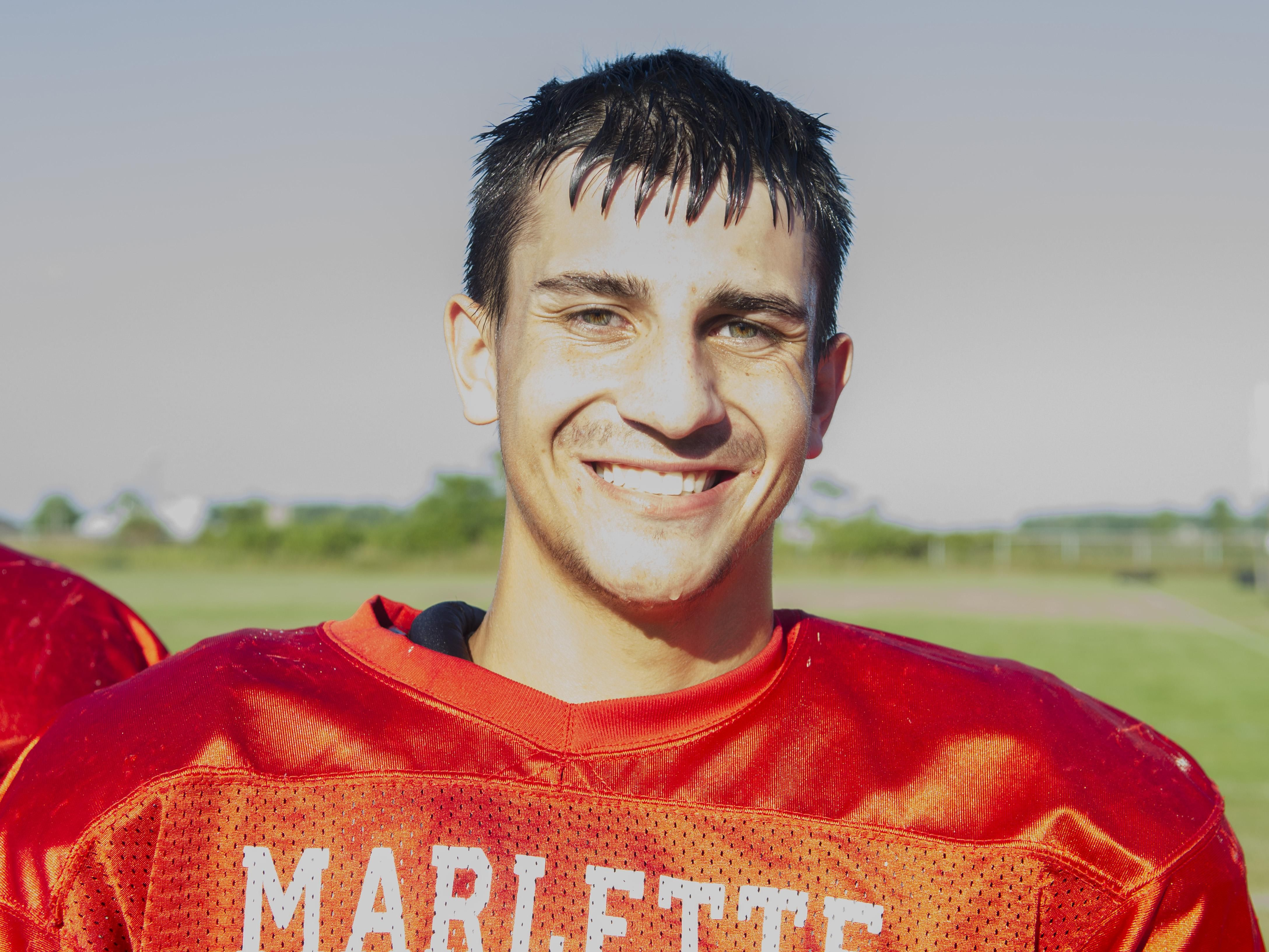 Brett Havens Marlette Football 2016