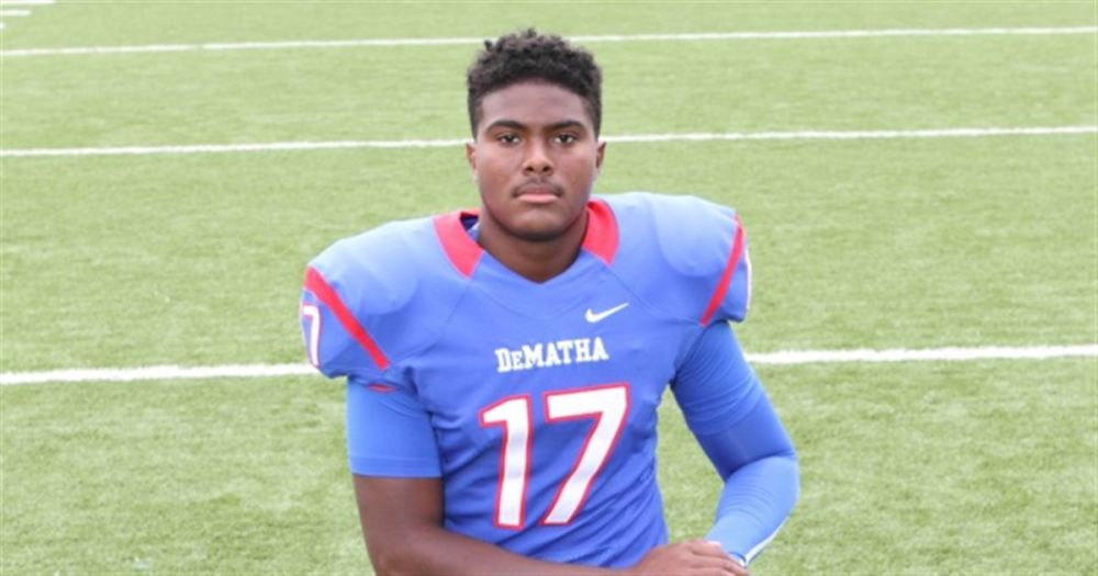 DeMatha Catholic (Hyattsville, Md.) quarterback Beau English. (Photo: 247Sports).