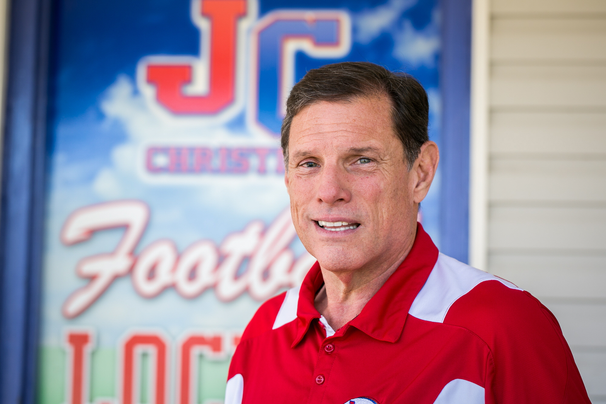 12/18/12 3:35:38 PM -- River Ridge, LA, U.S.A -- Our All USA coach of the year is J.T. Curtis of John Curtis Christian in River Ridge, La., near New Orleans. -- Photo by Paul Morse, Freelance ORG XMIT: PM 42838 John Curtis 12/18/2012 [Via MerlinFTP Drop]