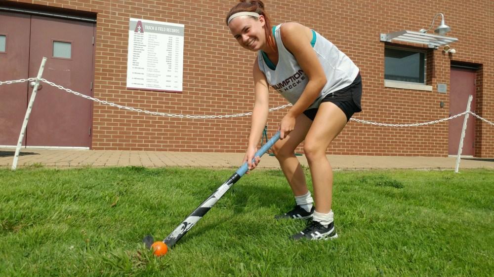 Josh Cook/Special to The Courier-Journal Assumption field hockey player Elizabeth 'Biz' Allgeier