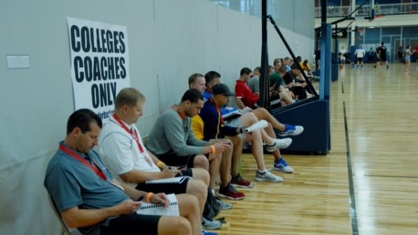 College coaches will be out in full force all month. (Photo: adidas)