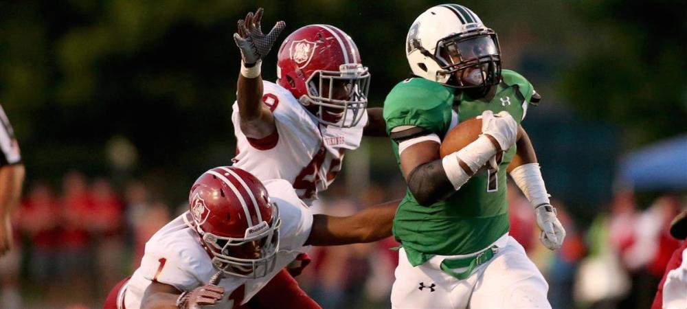 Roswell's Sheldon Evans (right). (Photo: 247Sports)