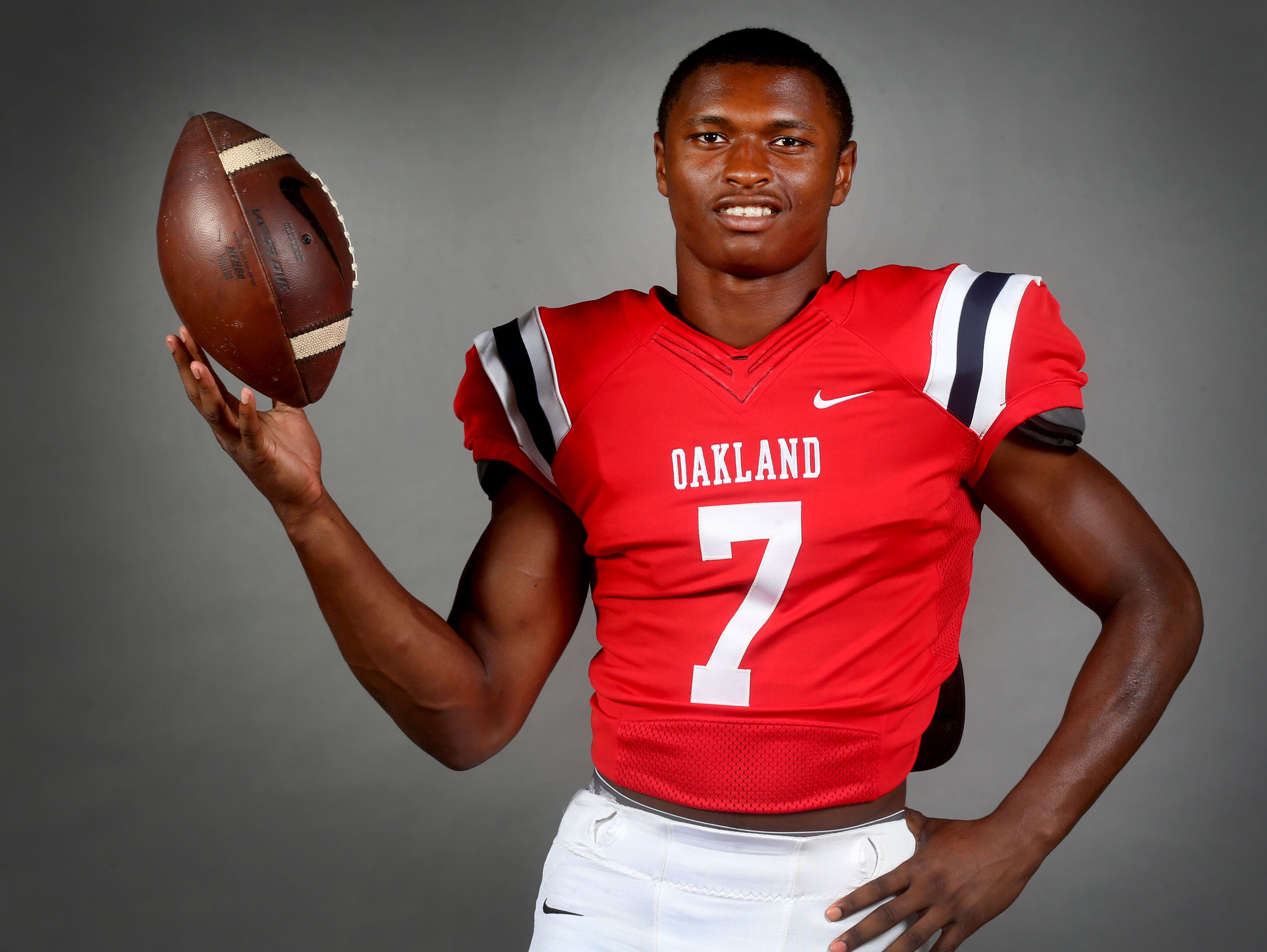 Oakland's JaCoby Stevens says he's sticking with his commitment to LSU for now.