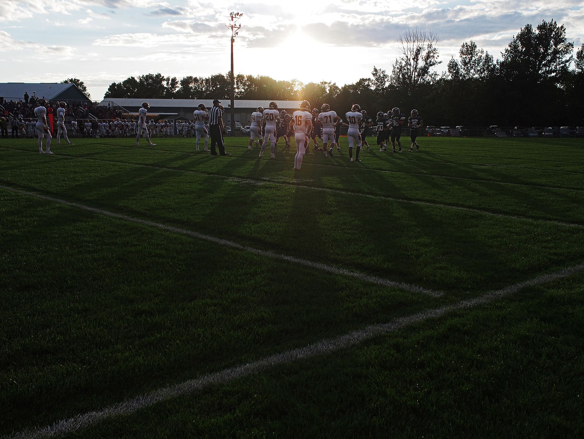 Madison takes on West Central Friday, Sept. 9, 2016, at West Central High School in Hartford, S.D.