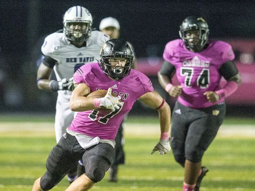 Tristen Tonte rushed for 130 yards on 25 carries in Warren Central's win (Photo: Robert Scheer, Indy Star)