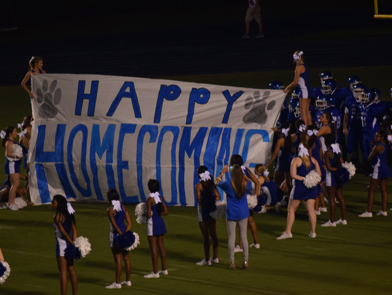 Homecoming night at Washington High against Pace.