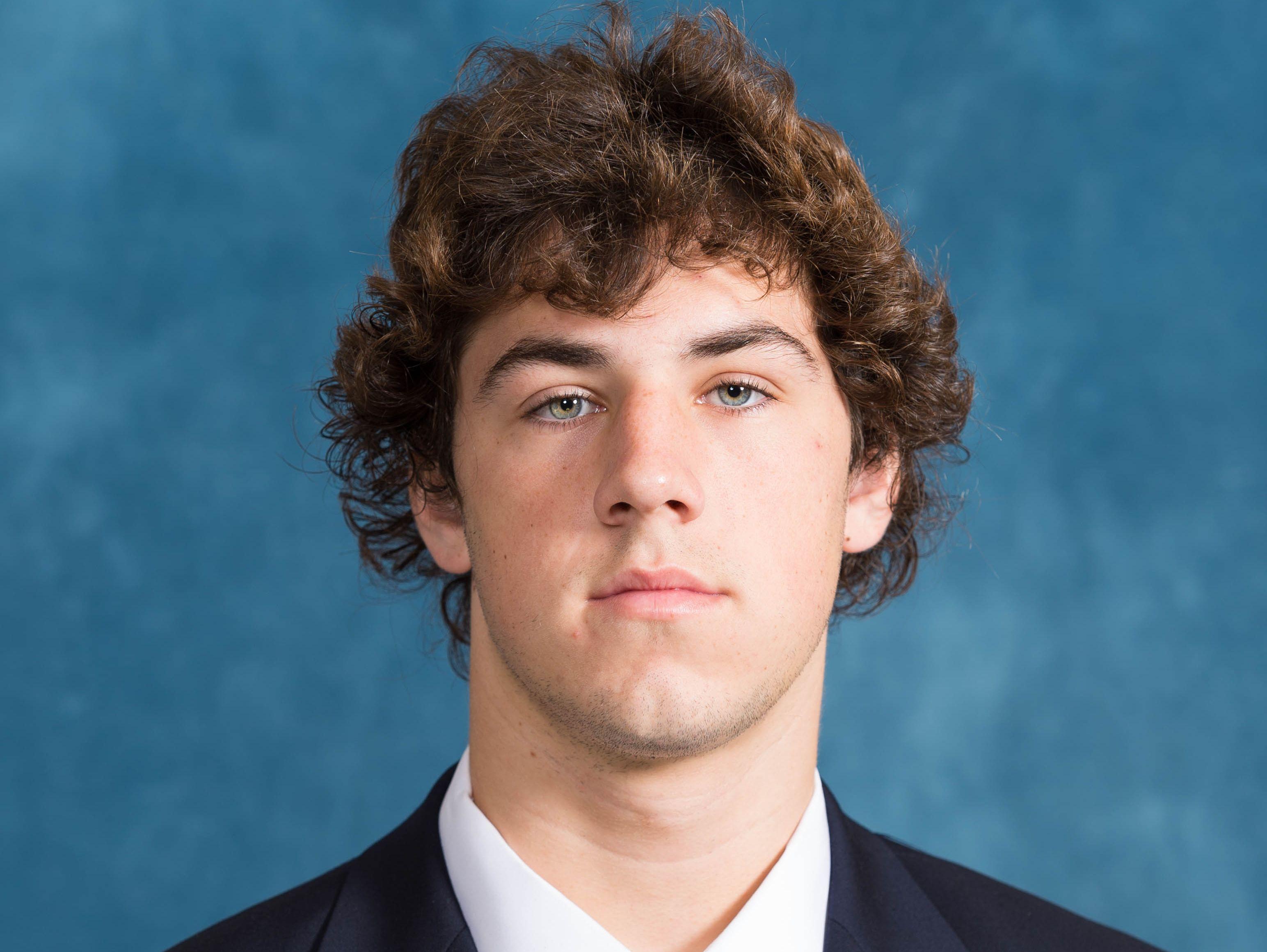 University of Michigan freshman Brandon Peters.