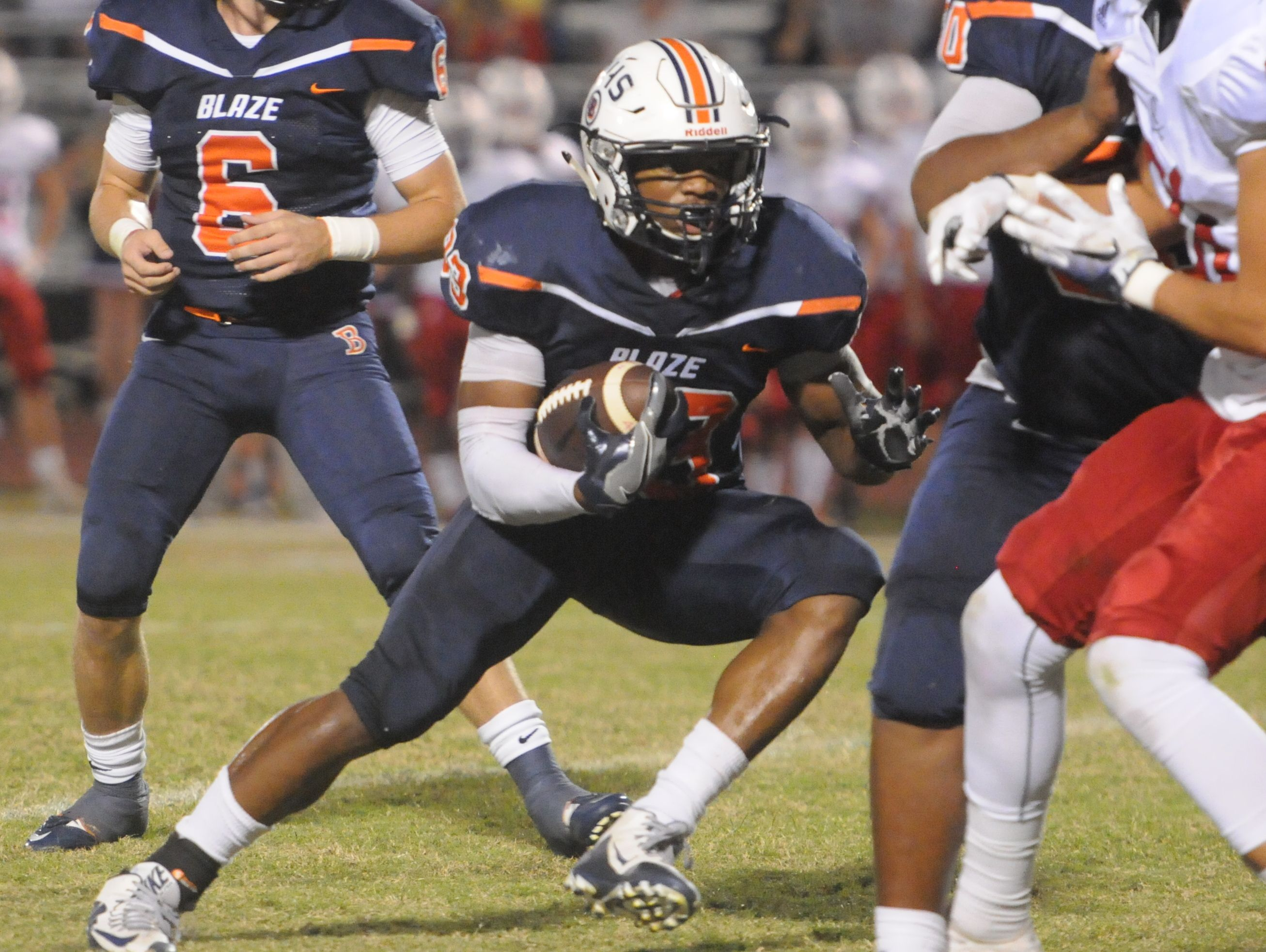 Blackman's Master Teague ran 332 yards and three touchdowns in Friday's win over Cookeville.
