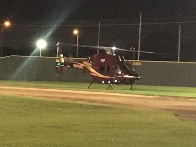 The Texas A&M SwagCopter (Photo: Twitter)