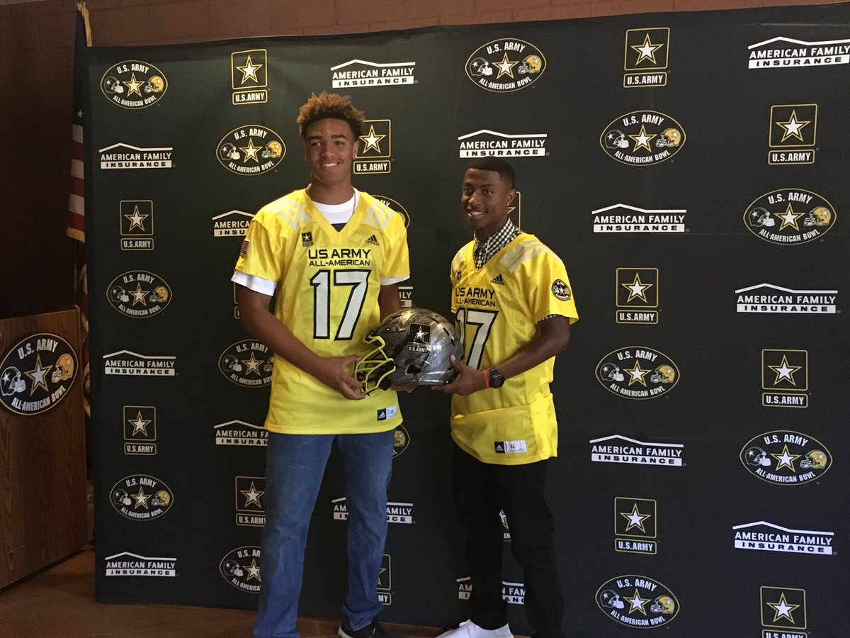 Hunter Echols and Jamire Calvin (Photo: U.S. All-American Game)