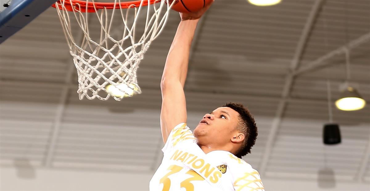 Kevin Knox said Coach K told the best story during the in-homes. (Photo: adidas)