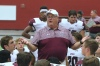 Jenks, Okla., football coach Allan Trimble has won 13 state titles and is coaching this season after receiving a diagnosis of ALS. (Photo: Duanewhitsettphotography.com).