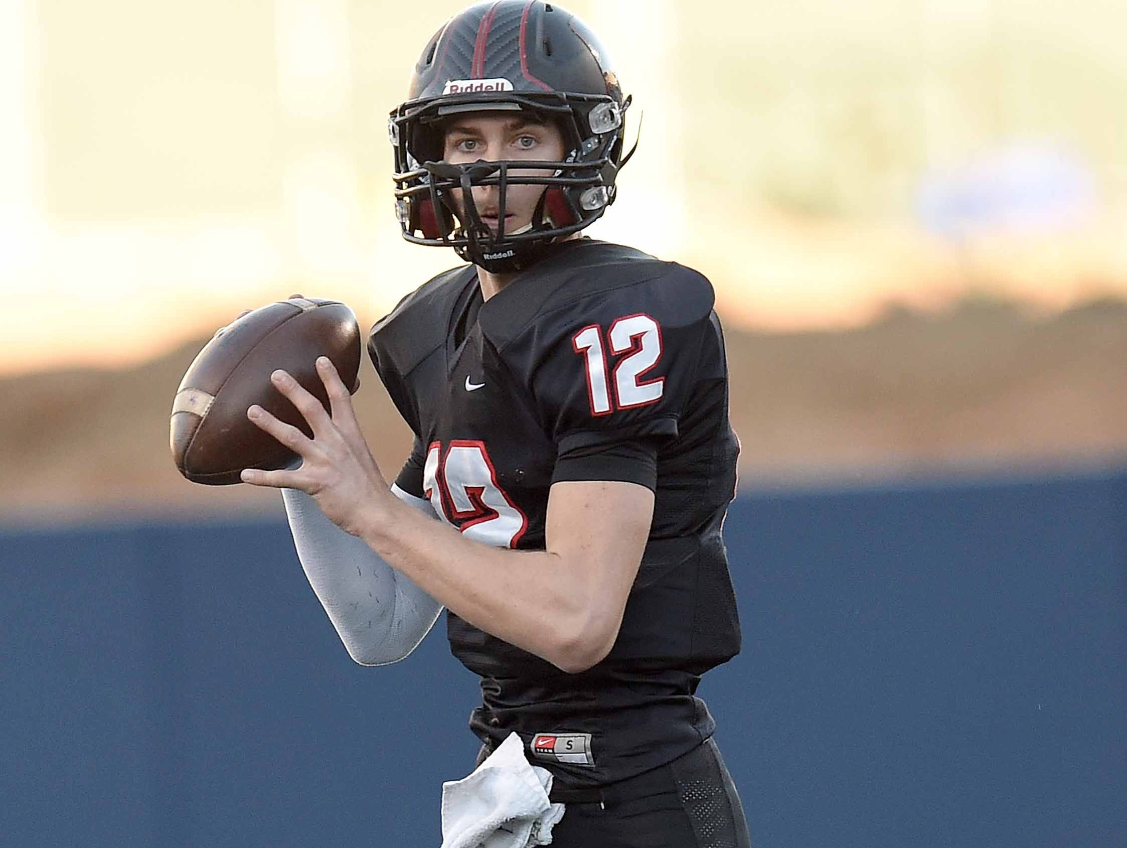 St. Stanislaus senior Myles Brennan is the top rated pro-style QB in the state.
