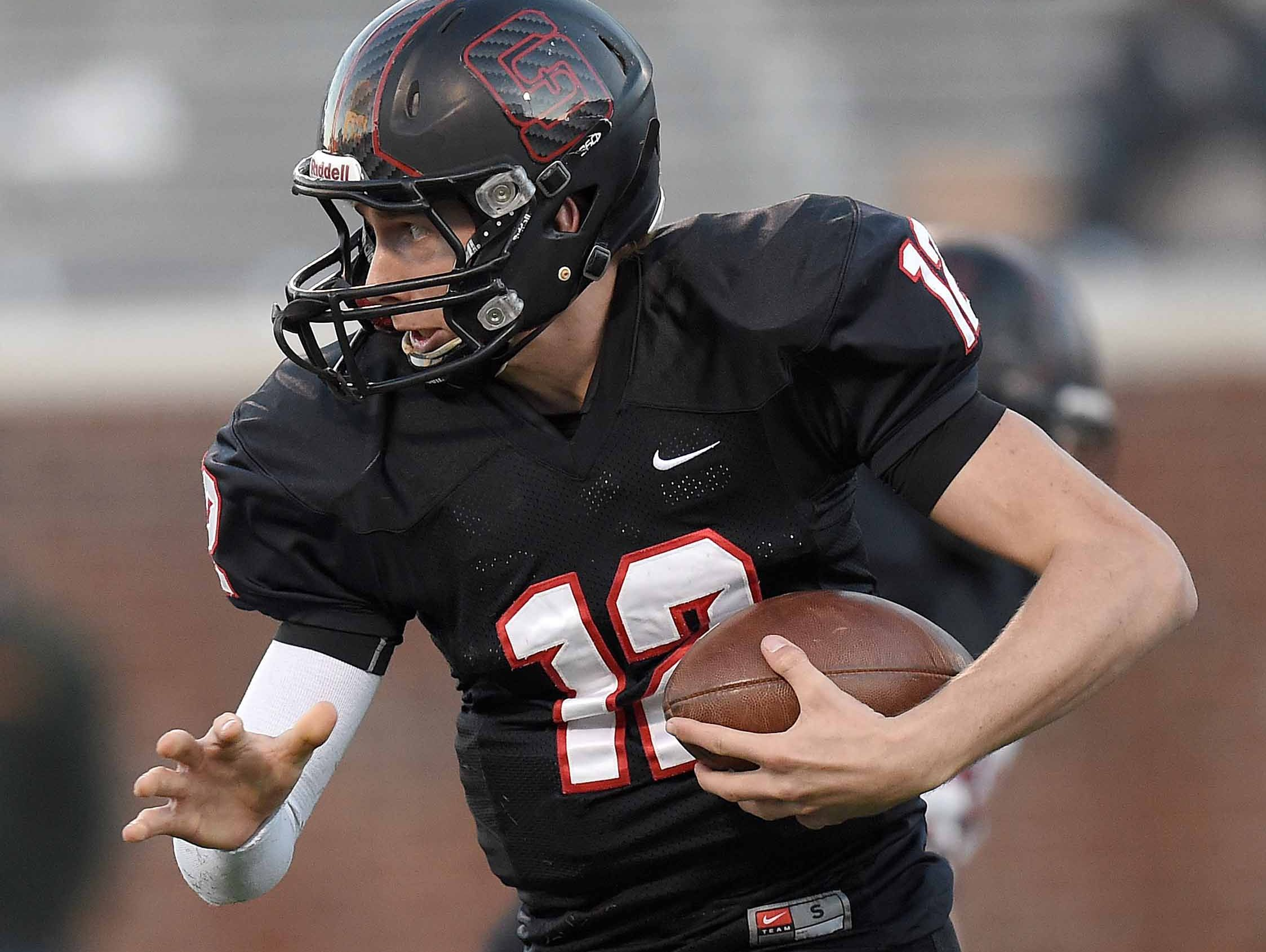 St. Stanislaus quarterback Myles Brennan is committed to LSU.