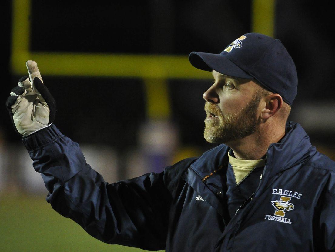Independence coach Scott Blade.