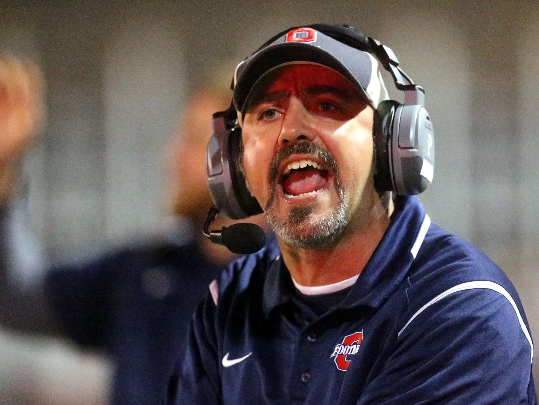 Oakland coach Kevin Creasy