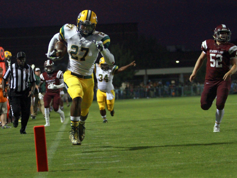 Gallatin running back Jordan Mason