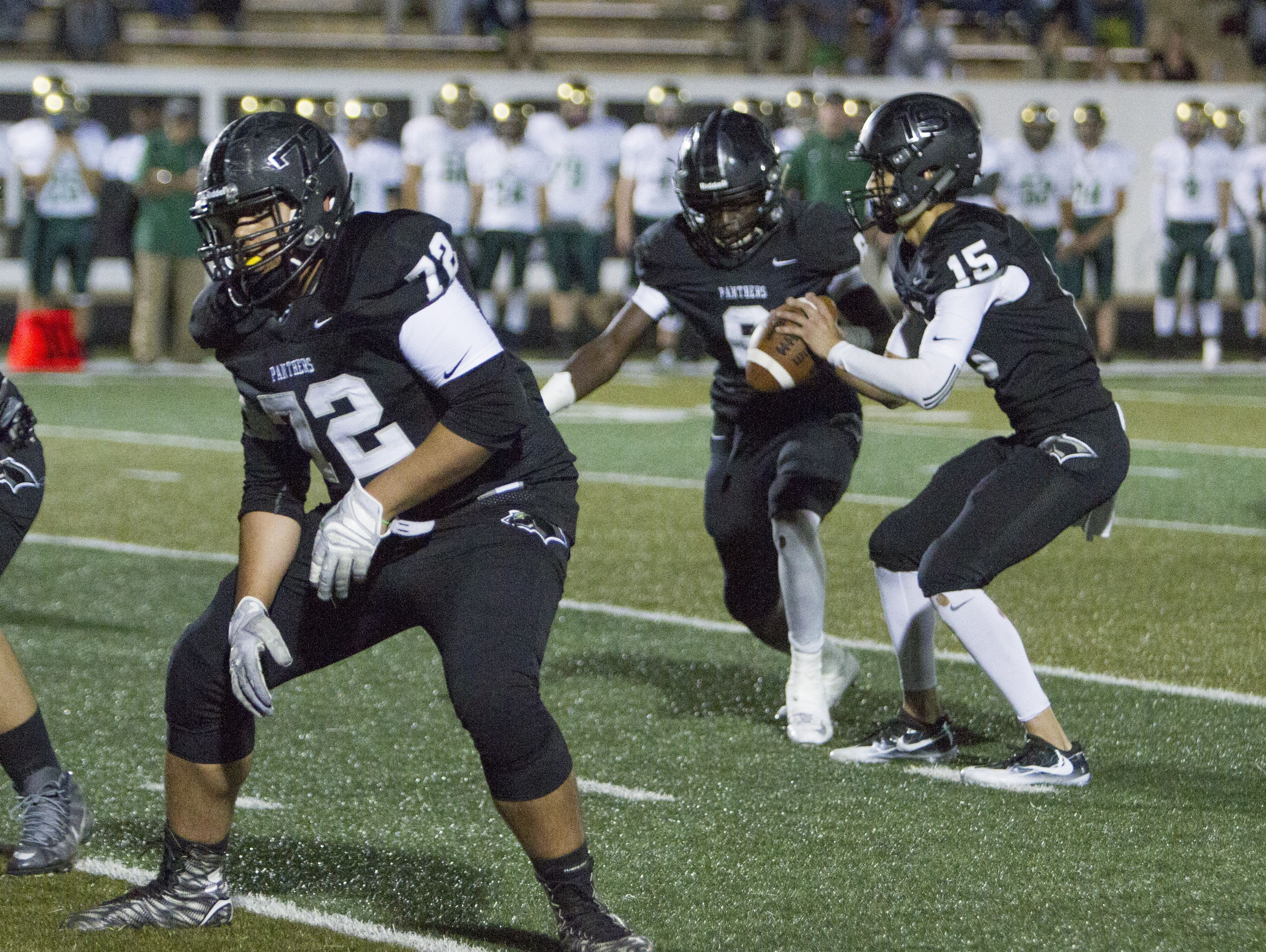 Pine View defeats the Warriors 13-7 Friday, Sept. 23, 2016.