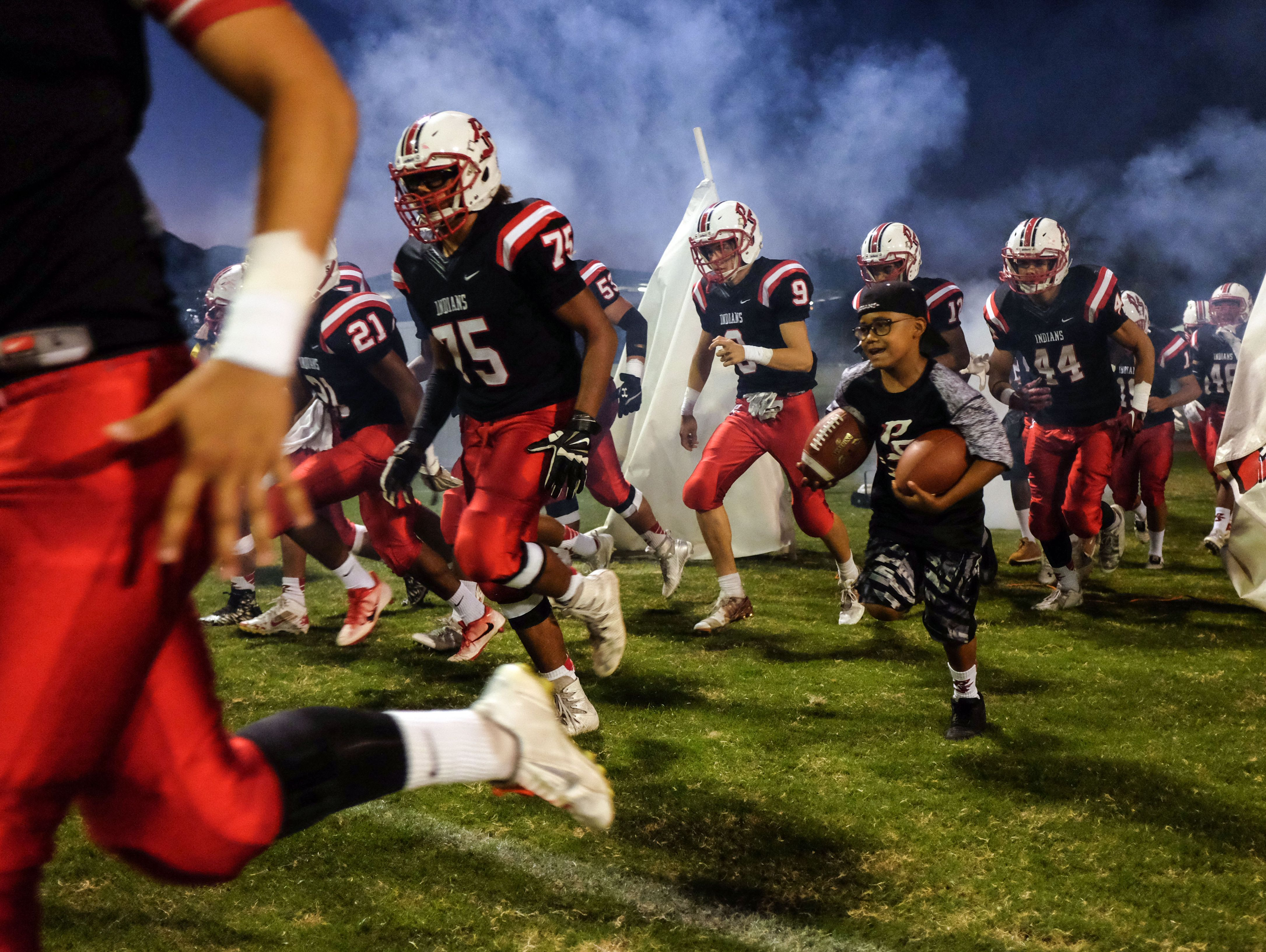 Palm Springs and La Quinta football action on Friday, September 30, 2016 in Palm Springs.