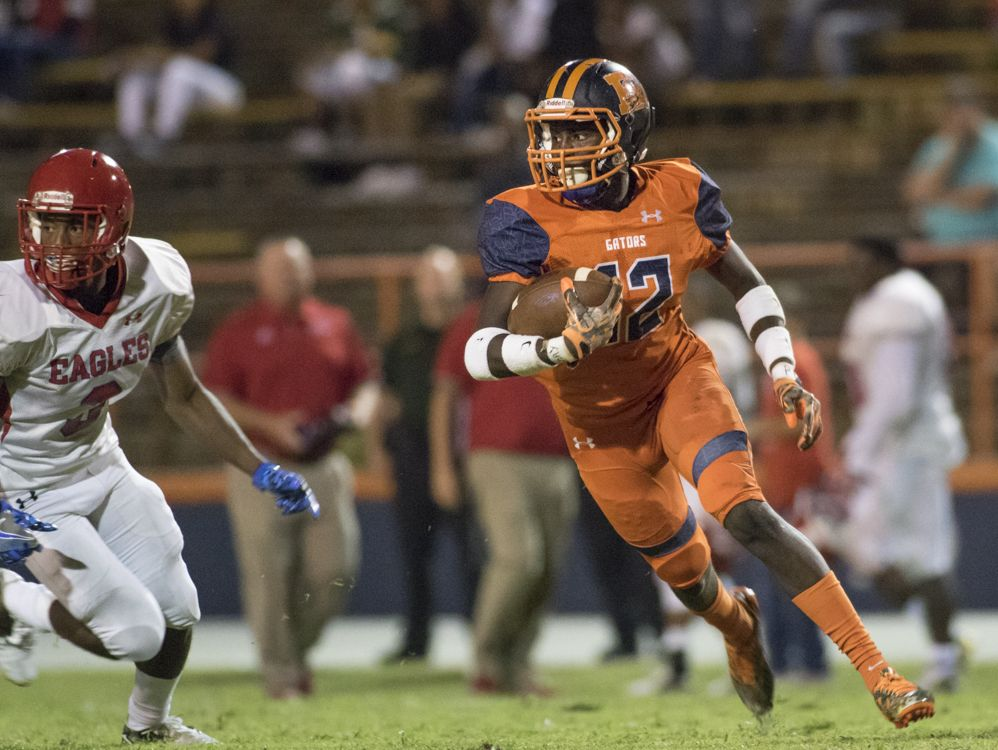 Pine Forest vs Escambia football game on Friday, September 30, 2016.