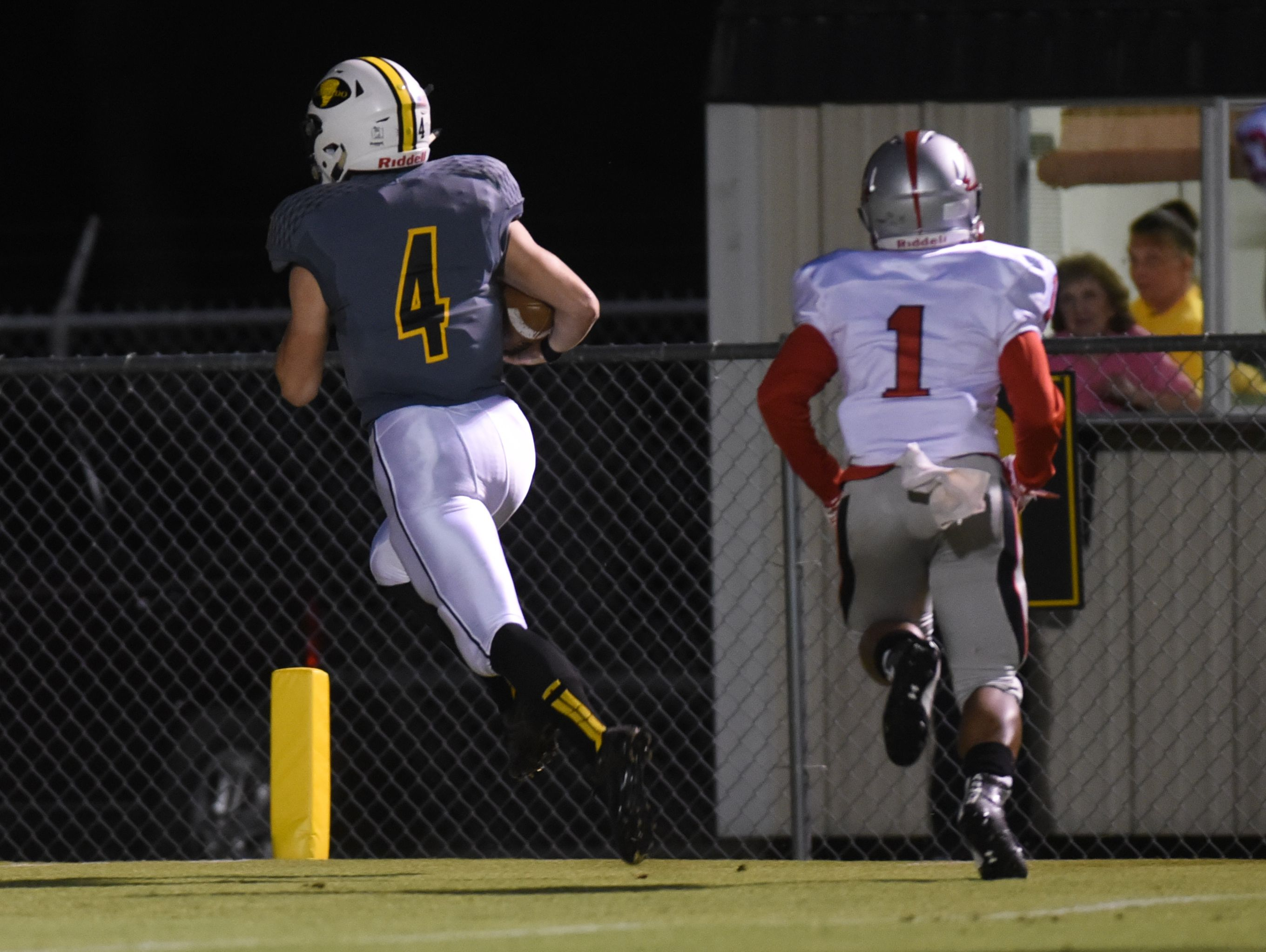 The Haynesville Golden Tornado take on Plain Dealing Friday night in district play.