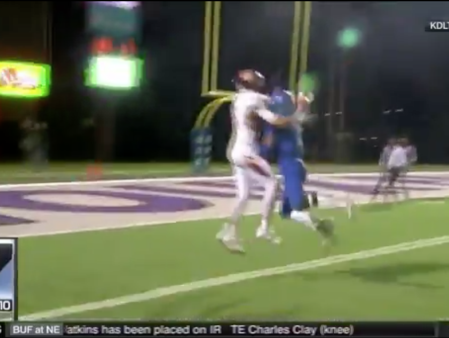 Madison's Jaxon Janke's ridiculous catch.