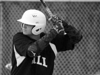 Colby Atkinson bats for Smyrna Clayton Little League in April 2015. It was his first baseball game after his bone marrow transplant.