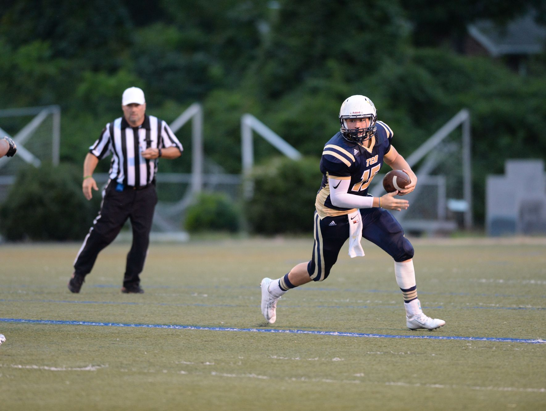 Roberson sophomore Ty Gossett is the youngest 1,000-yard passer in Western North Carolina football.