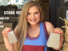 Minden junior Kenzie Ellington holds up two cowbells that will be used at Friday's Minden-Benton game.