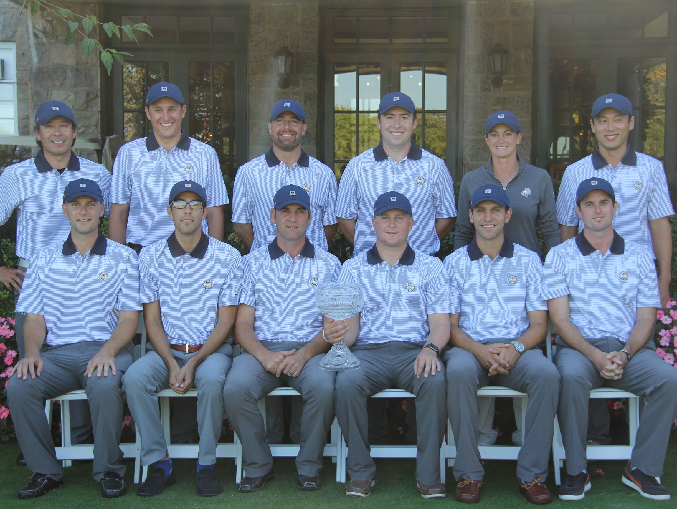 The assistants team for the Gene Borek Squire Cup at Fenway Golf Club.