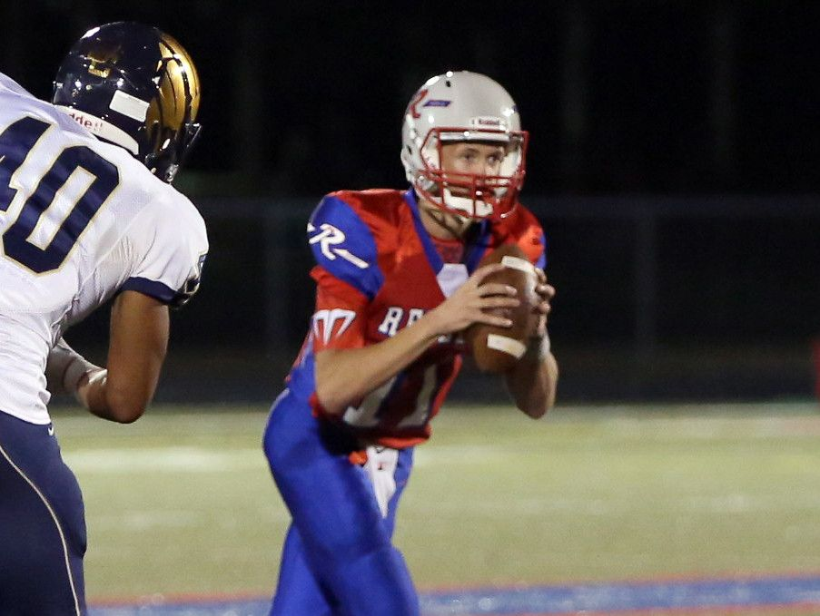 Roncalli QB Derek O'Connor helped lead the Rebels to a win Friday over Decatur Central.