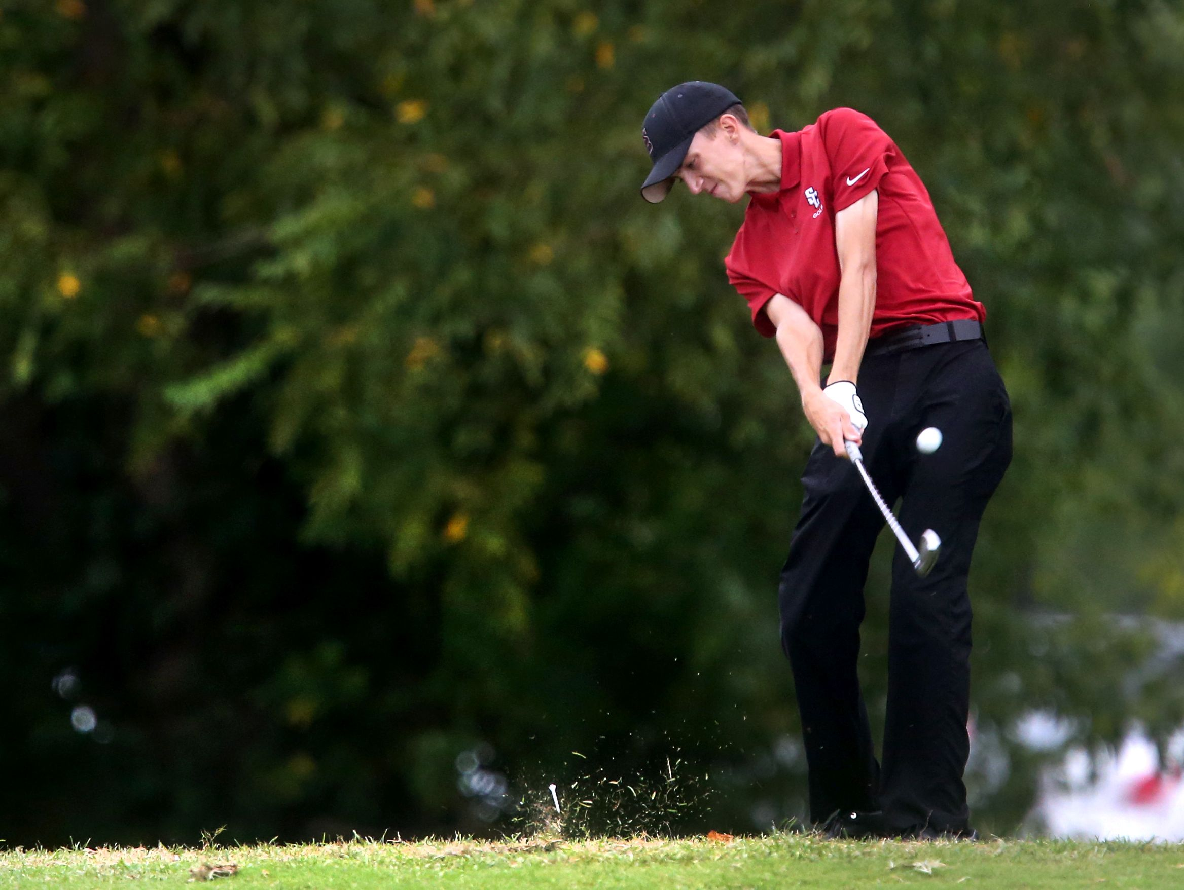 Stewarts Creek junior Shelden Barina shot 67 at the Region 4-AAA Golf Tournament.