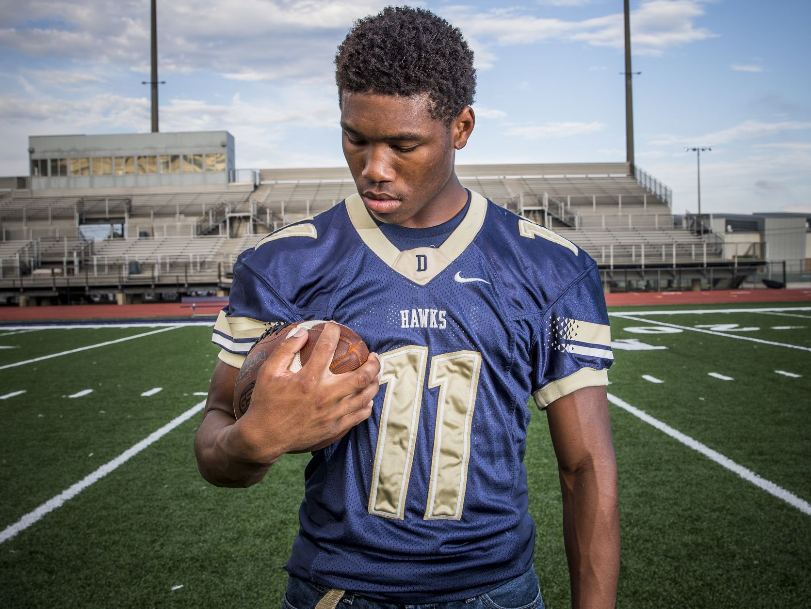 Tyrone Tracy, running back for Decatur Central.