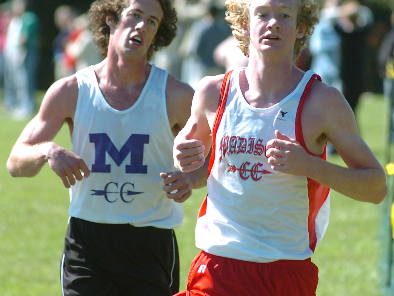Madison graduate Josey Weaver, right, has been named an assistant cross country and track coach at East Carolina.