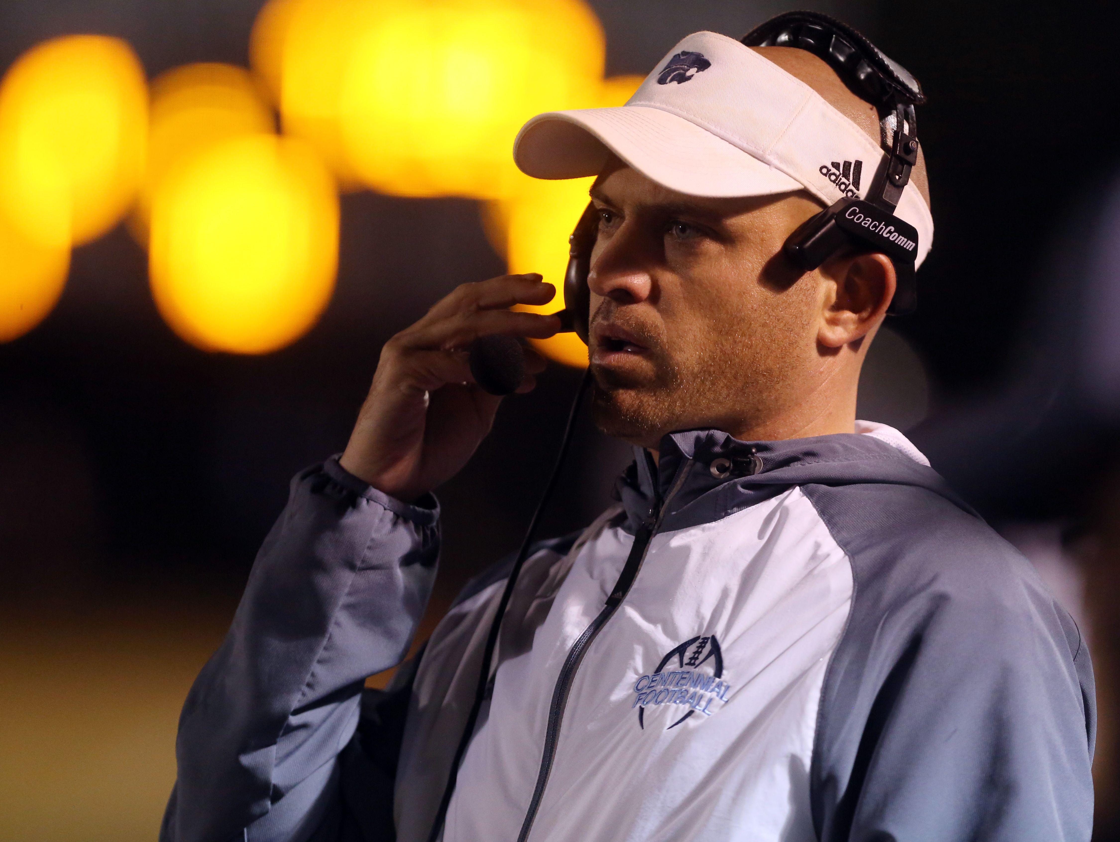 Centennial High School head coach Matt Kriesky
