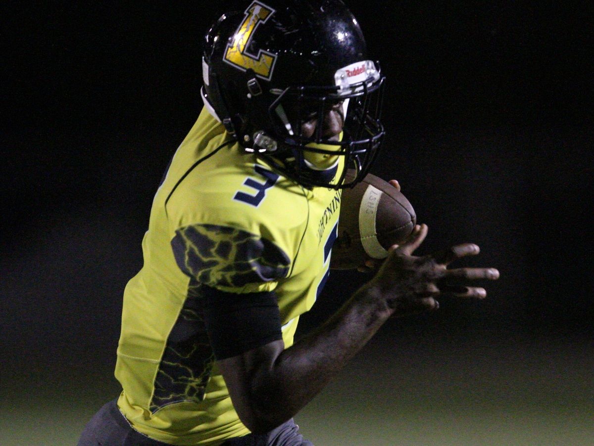 """The East Lee County High School Jaguars football team visited the Lehigh Senior High School's Lightning Friday, October 14 for the """"Beast of the East"""" rivalry game. The final score for this year's matchup was Lehigh 45, East Lee 13."""