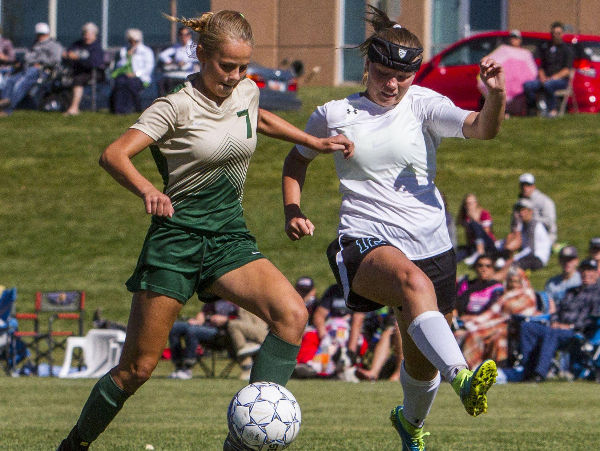 High school girls soccer playoffs: Snow Canyon at Canyon View in Cedar City, Saturday, Oct. 15, 2016. Final score: SCHS 2, CVHS 1 OT.