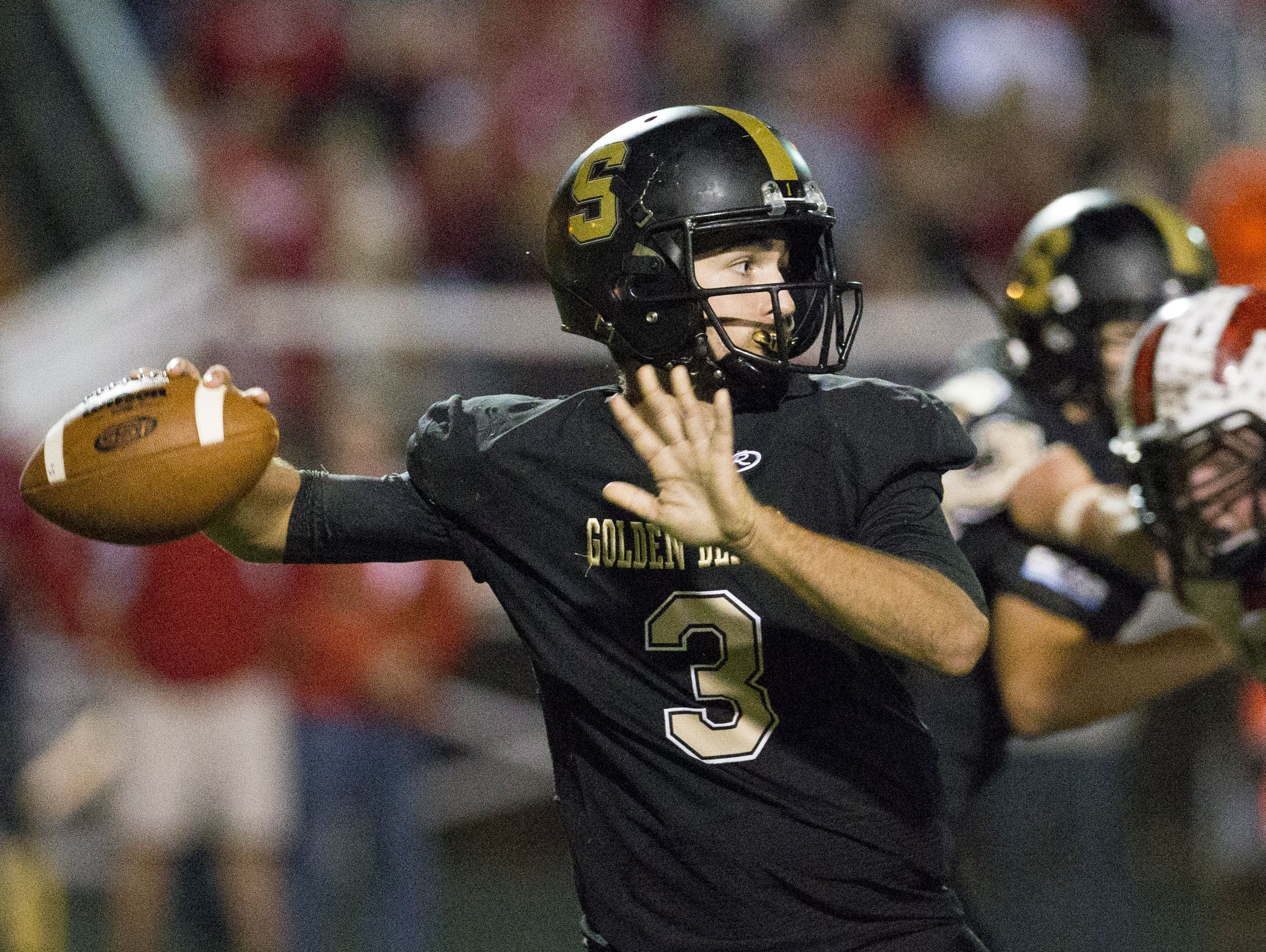 John Lux leads a high-powered Shelbyville offense against East Central on Friday.