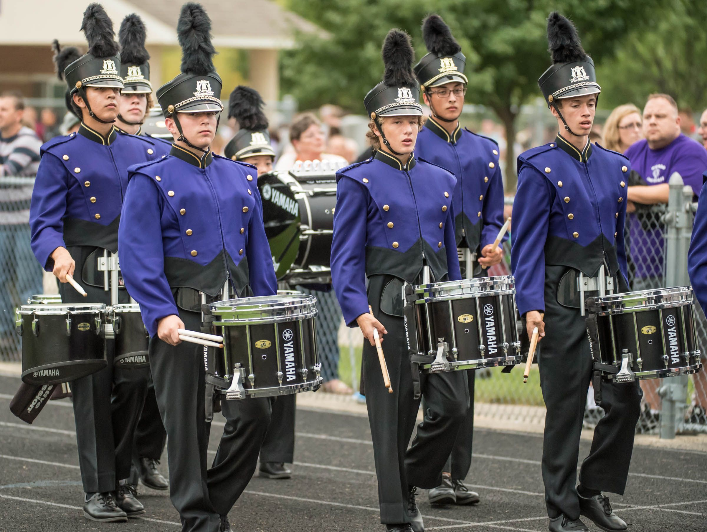 Lakeview marching band