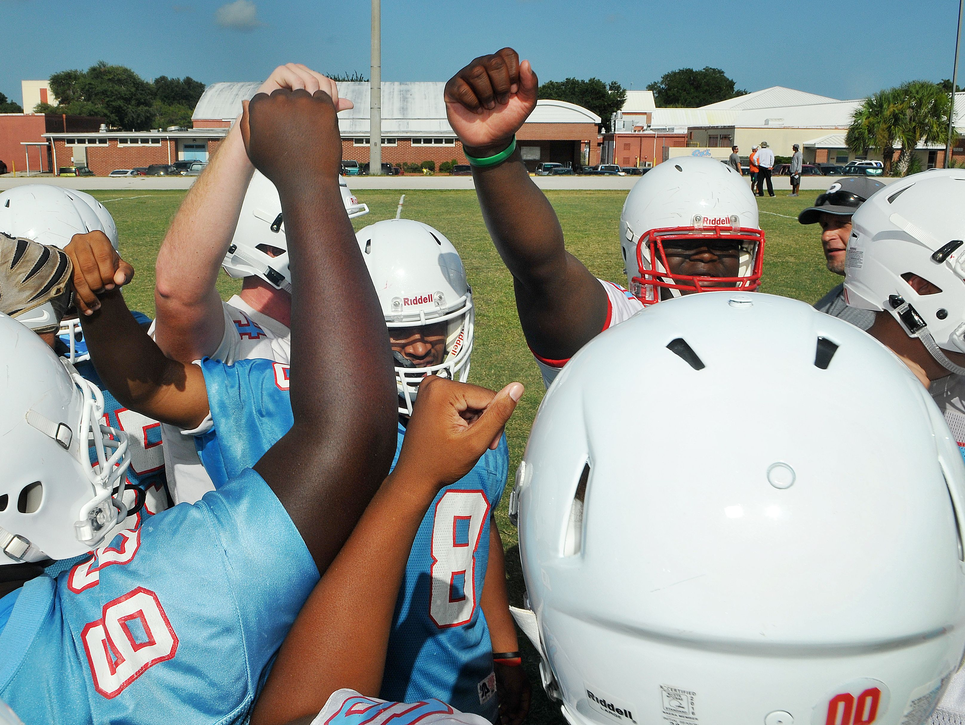 Rockledge High visited Titusville High in a district matchup on Friday night.