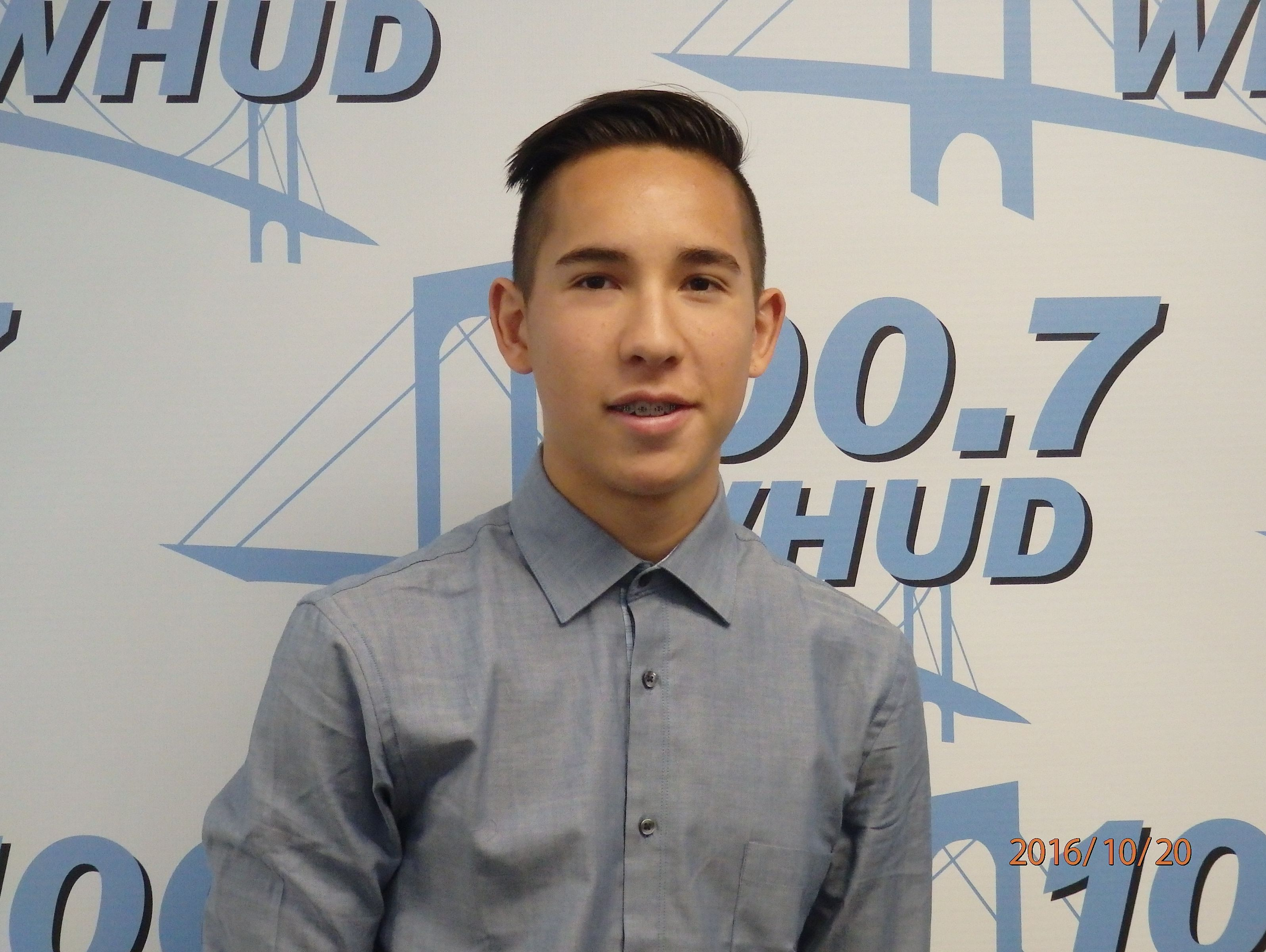 Hastings boys soccer player Oscar Pereira is the Con Edison Athlete of the Week.