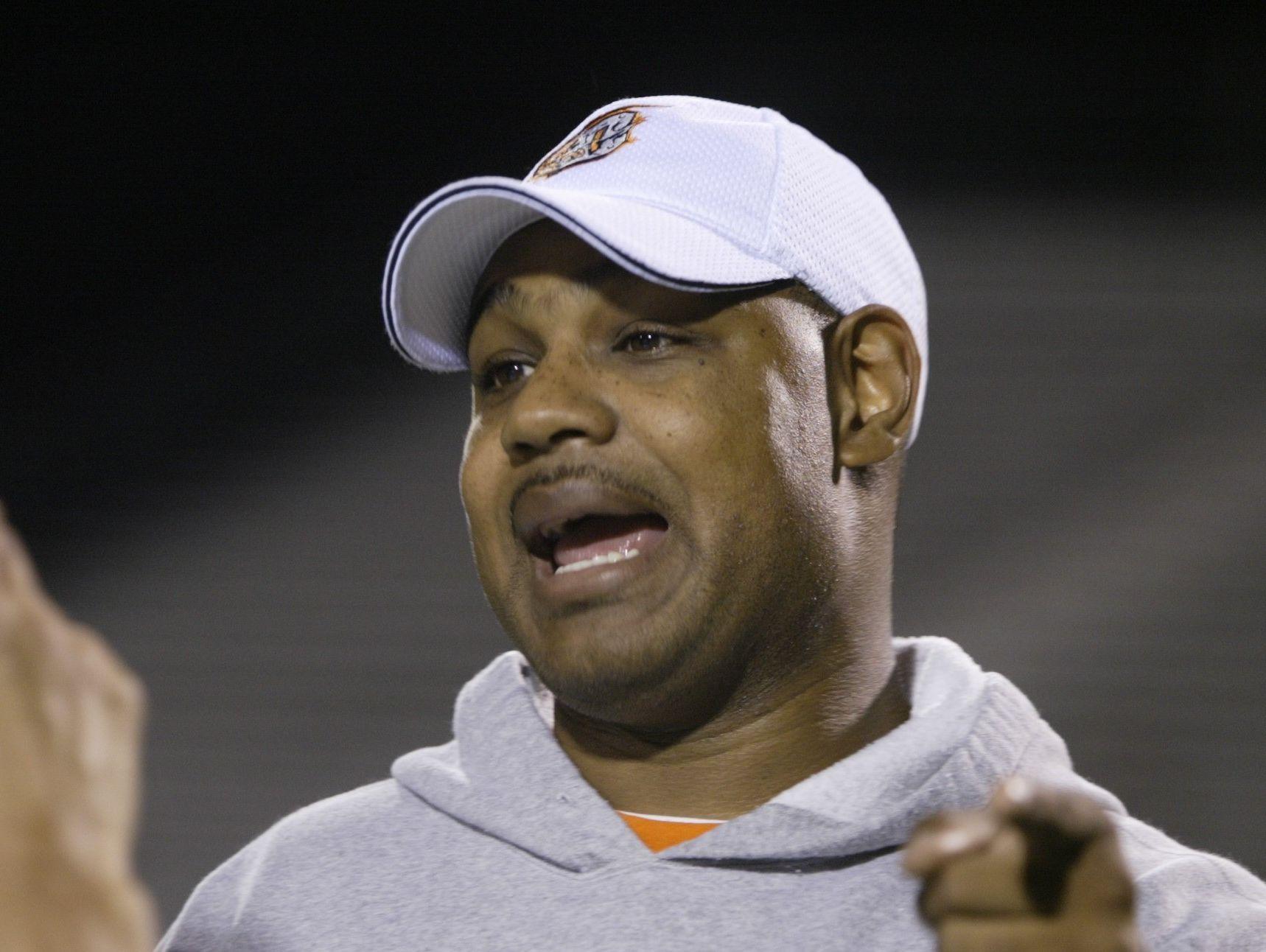 Detroit Denby coach Tony Blankenship