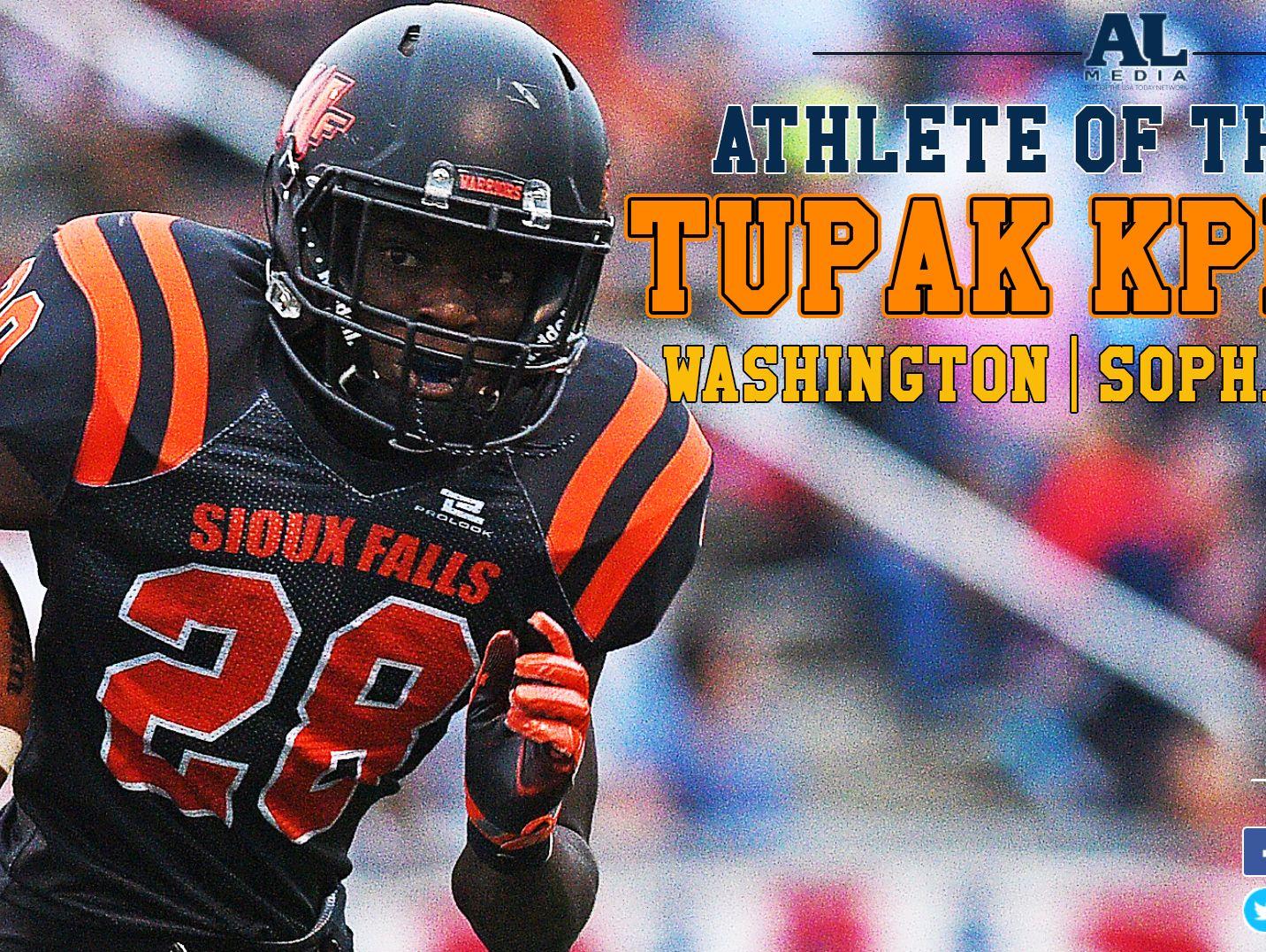 Athlete of the Week: Tupak Kpeayeh
