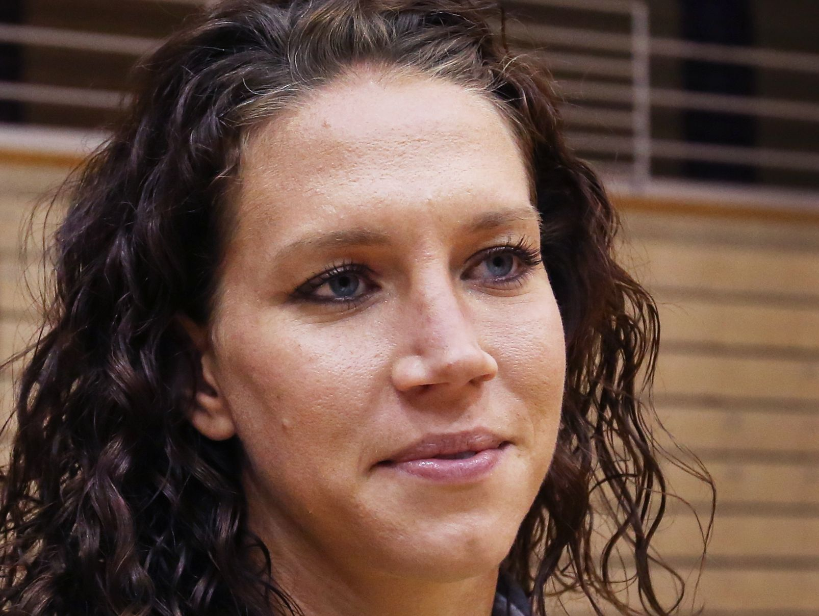 Two-time Olympic gold medalist (2008 and 2012) Lauren Holiday (formerly Cheney), a 2006 graduate of Ben Davis High School, returned to her alma mater for a youth clinic on Wednesday, May 20 2015. Holiday, who now lives in New Orleans, is a midfielder on the U.S. Women's National Soccer Team and is preparing for the World Cup. Holiday spoke to student athletes and helped out Ben Davis strength coach Kevin Vanderbush.